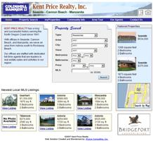 Kent Price Realty Home Page